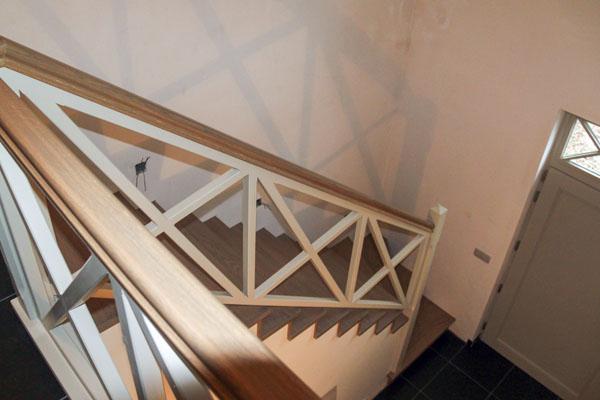 afwerkingen trapbekleding in hout - johan baeten