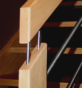 houten trapleuning - johan baeten