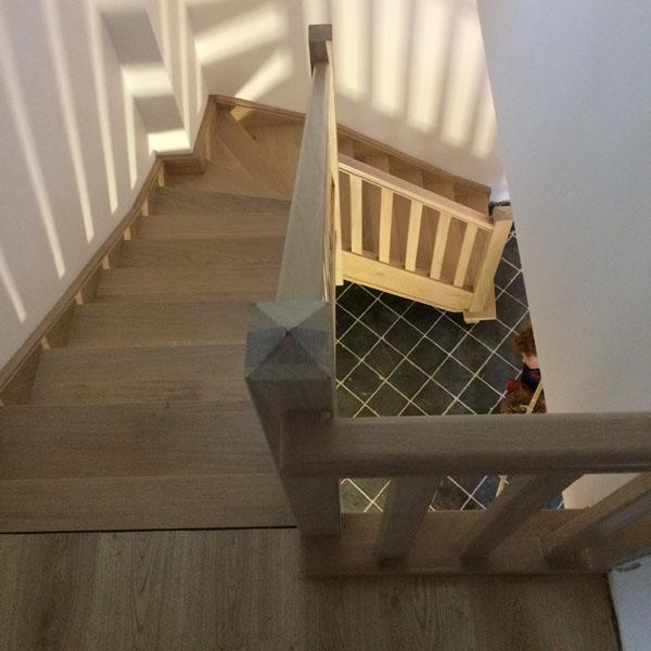 rustieke houten trappen - johan baeten