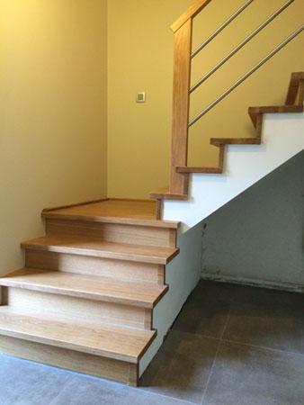 trappen afwerken - johan baeten
