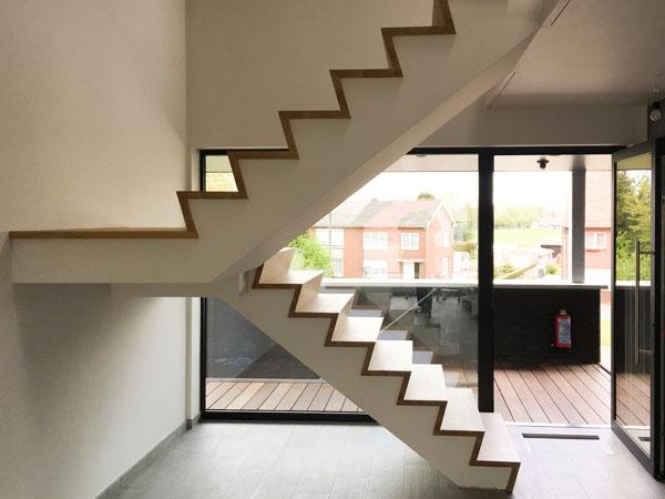 houten trappen maken - johan baeten